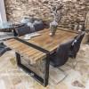 Tisch Aus Altholz tische aus altholz und recyceltem holz der tischonkel