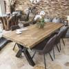 Möbel aus recyceltem holz  Tische und Möbel aus recyceltem Holz : Der Tischonkel