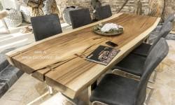 Couchtische Und Esstische Aus Einem Baumstamm Der Tischonkel