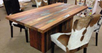 Massivholztisch Boatwood 200 x 100 cm