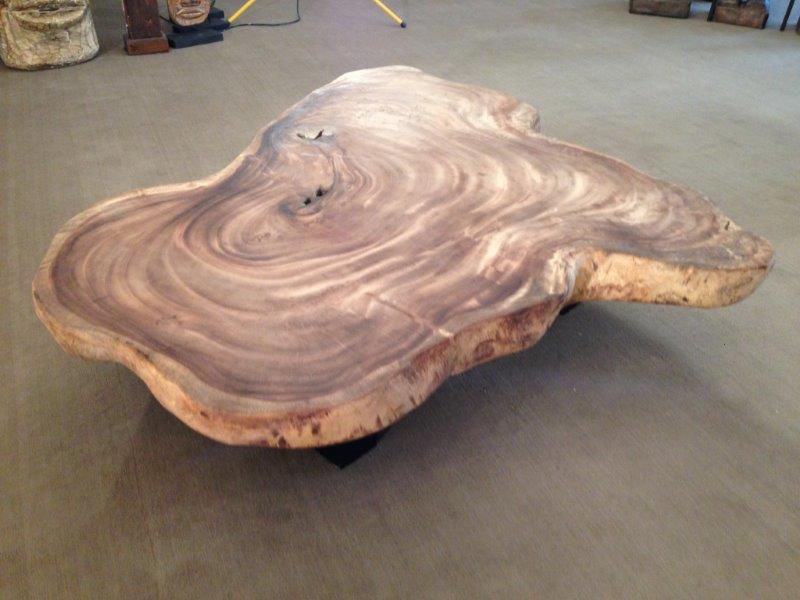 Wohnzimmertisch Aus Einer Baumscheibe Der Tischonkel Gartenm Bel Holz Lounge Sessel Tisch Sylt