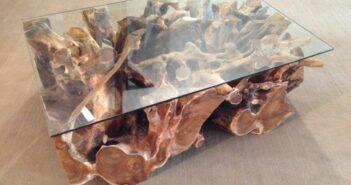 Tisch Baumwurzel 120 x 80 cm
