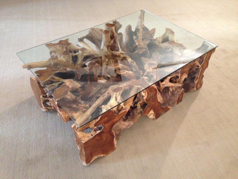 couchtisch wohnzimmertisch aus einer baumwurzel der tischonkel. Black Bedroom Furniture Sets. Home Design Ideas