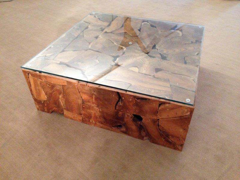 Tisch Wurzelholz 100 X Cm