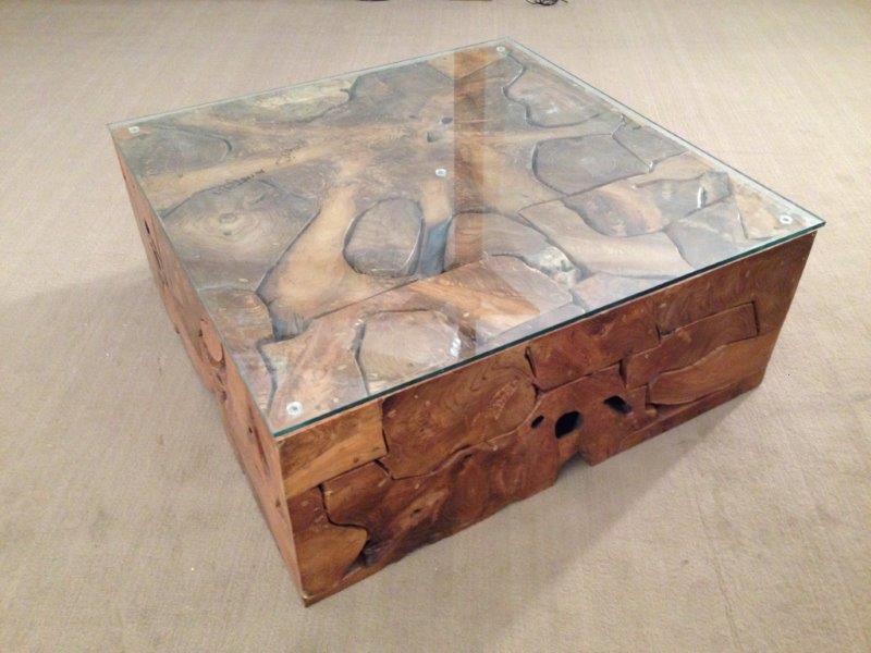Couchtisch wohnzimmertisch aus wurzelholz der tischonkel for Baumstamm wohnzimmertisch