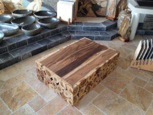 Massivholztisch Teak 120x80cm