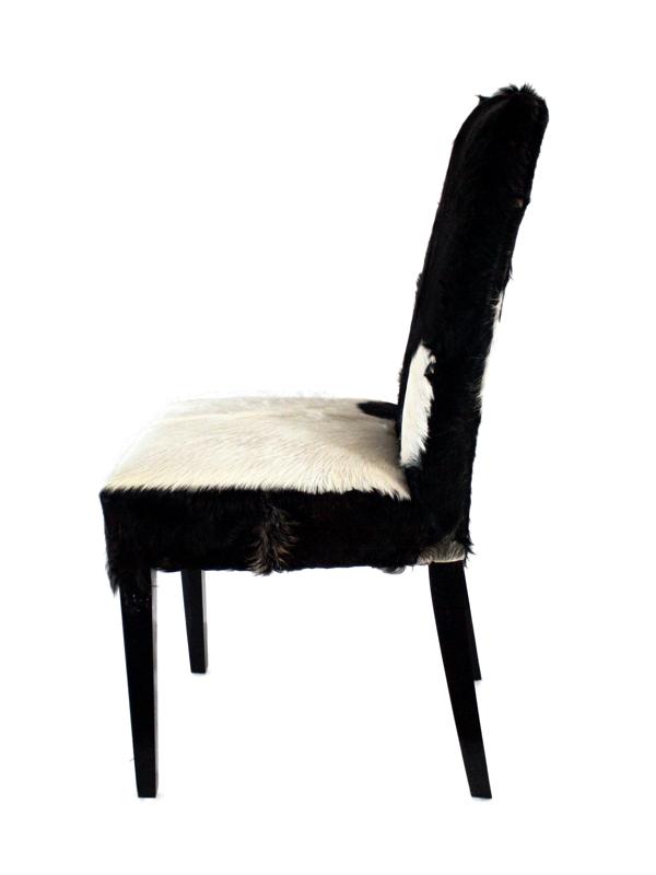 stuhl kitzb hel mit echtem fellbezug der tischonkel. Black Bedroom Furniture Sets. Home Design Ideas