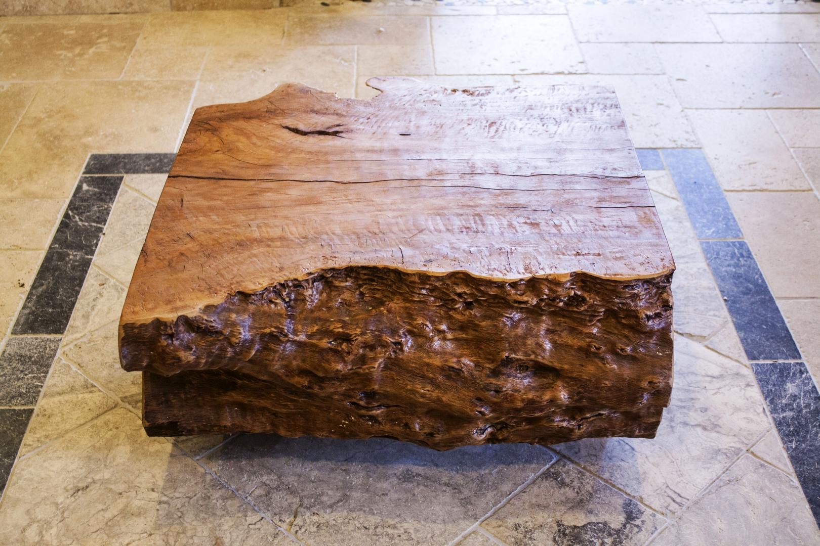 Beistelltisch Couchtisch Baumstamm  Der Tischonkel