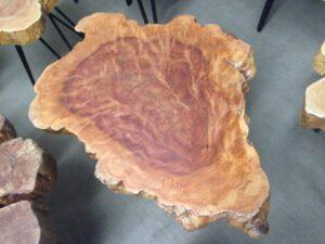 Beistelltisch aus einer Baumscheibe