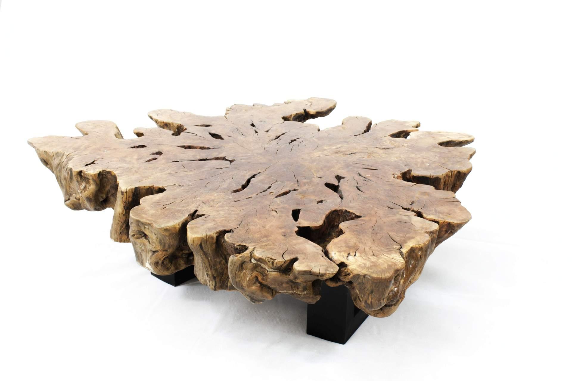 Couchtisch Baumstammtisch Einzelstuck Der Tischonkel