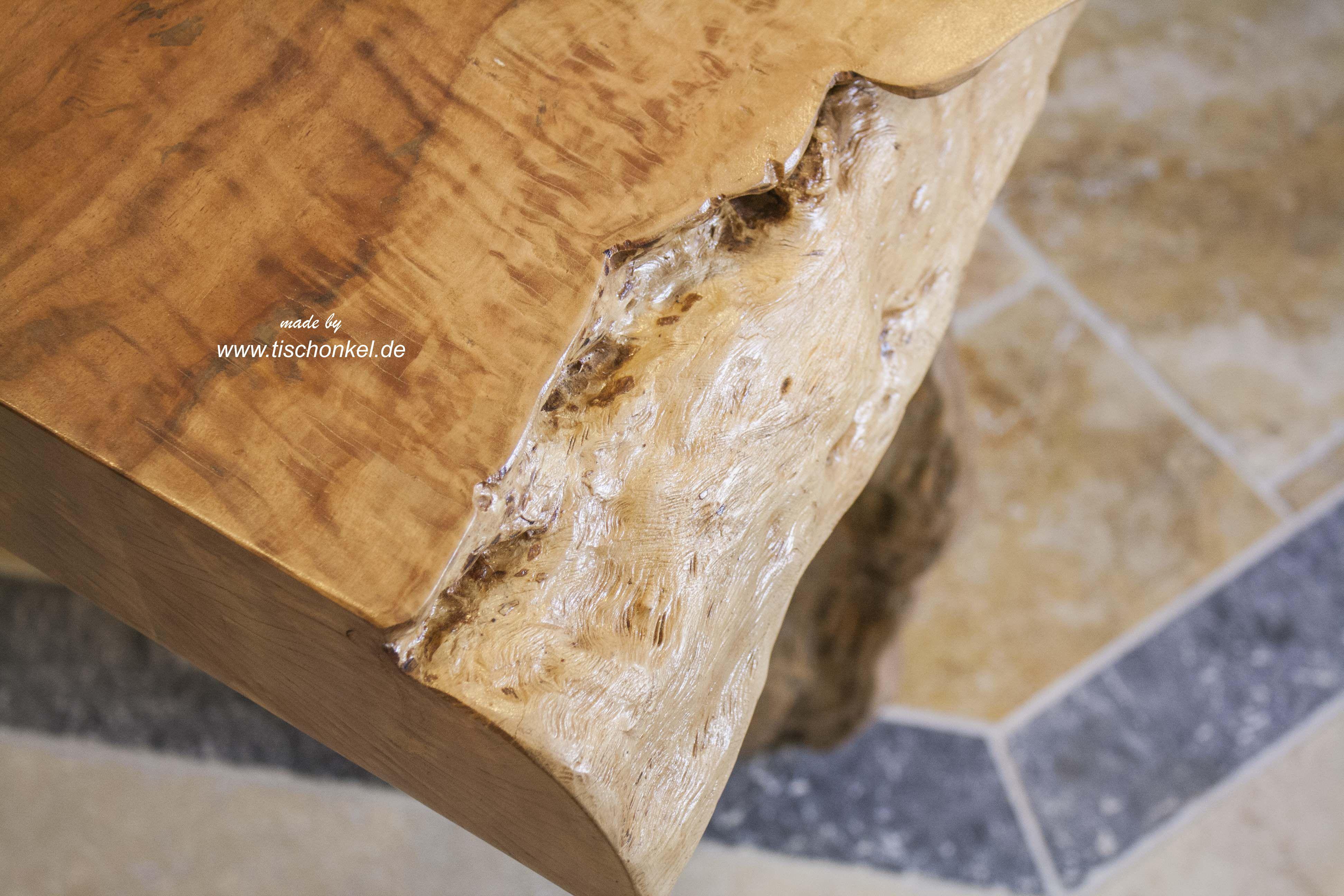 Esstisch Lychee ~ Esstisch aus einem Baumstamm  Der Tischonkel