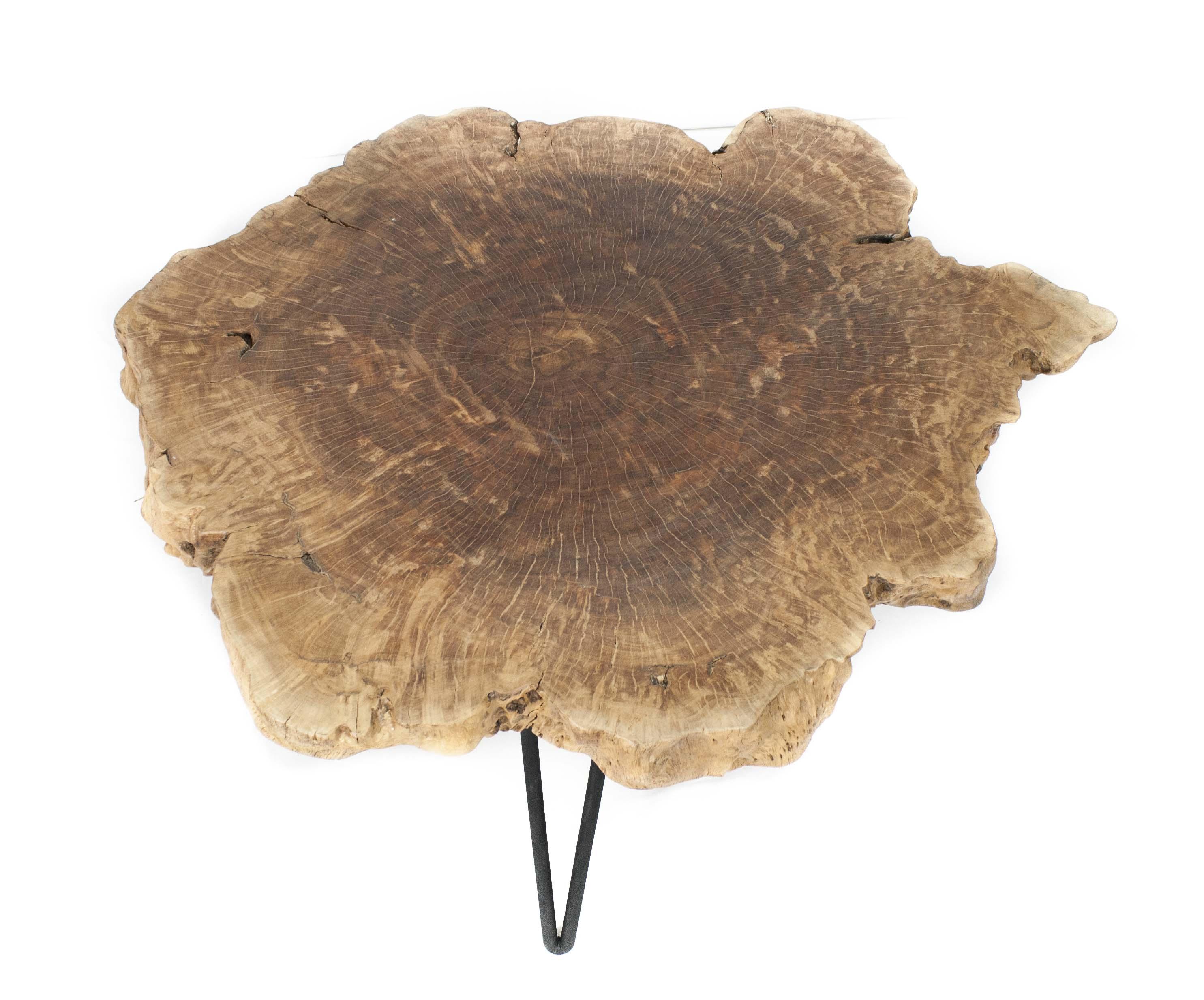 Beistelltisch Couchtisch Stammholz Der Tischonkel