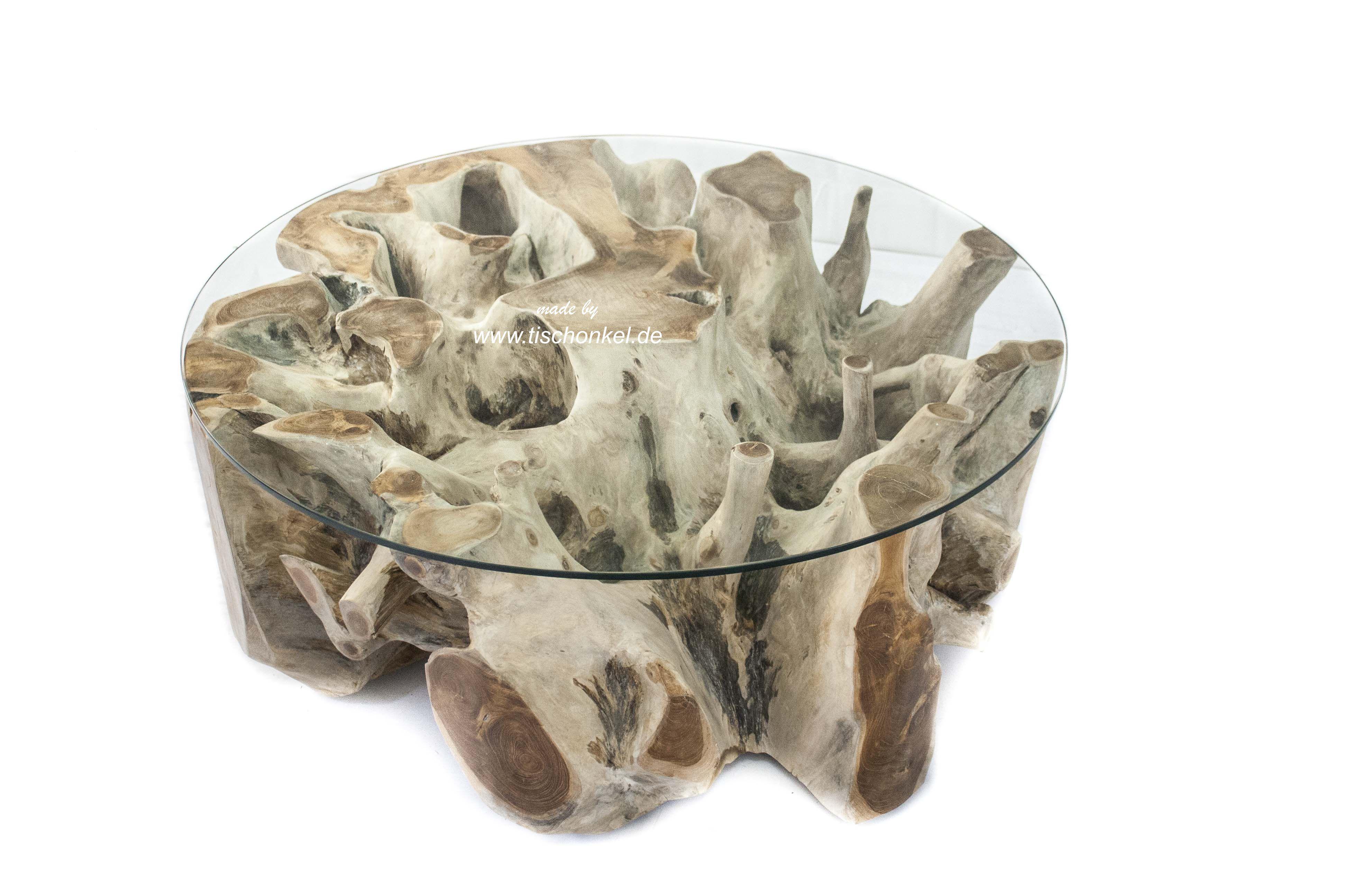 Teak Wurzel Tisch teakholz wurzeltisch : der tischonkel