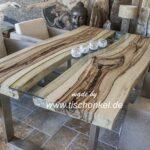 Designertisch aus Tamarind