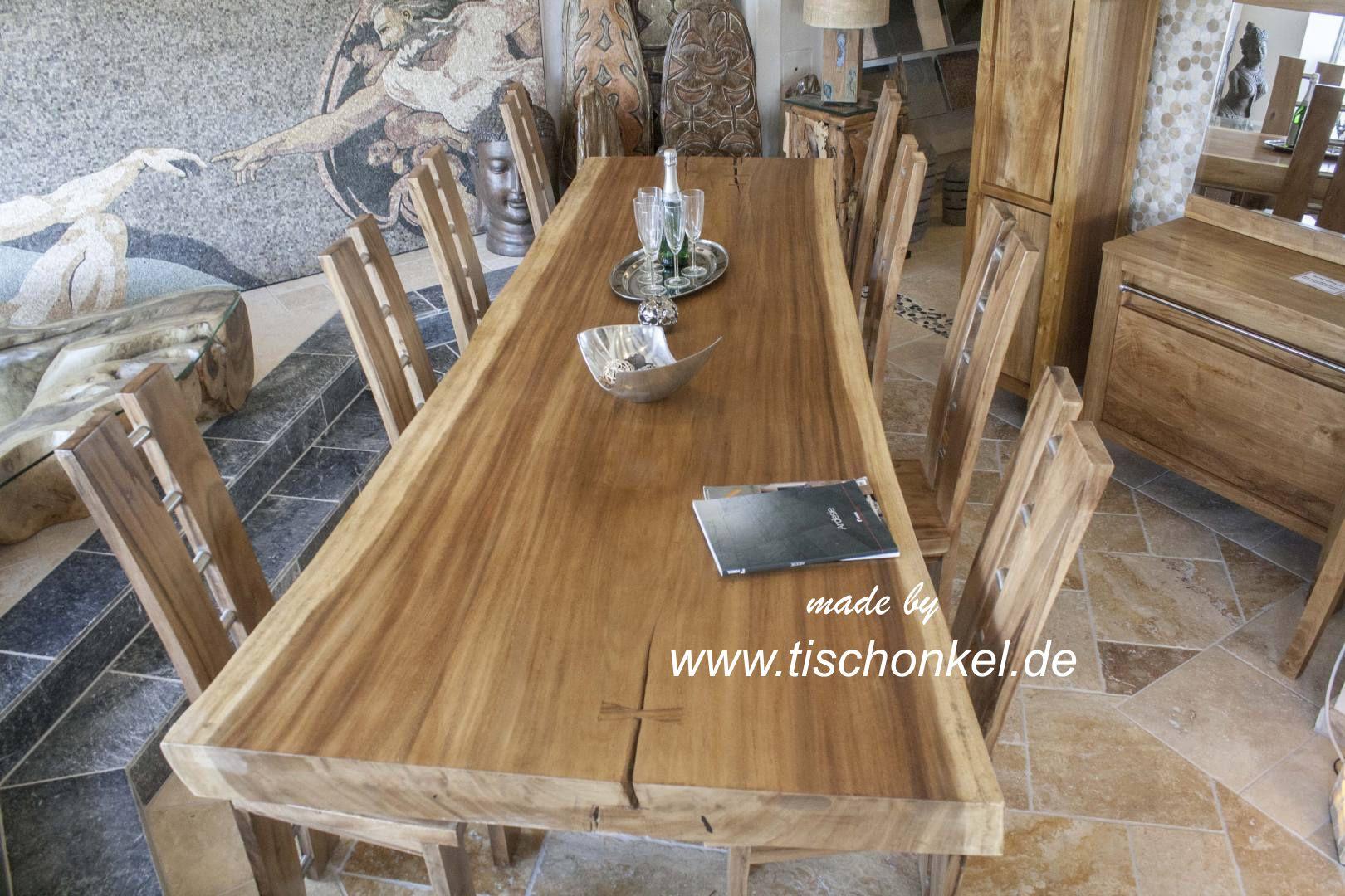 Esstisch Lychee ~ Esstisch aus Suar  Der Tischonkel
