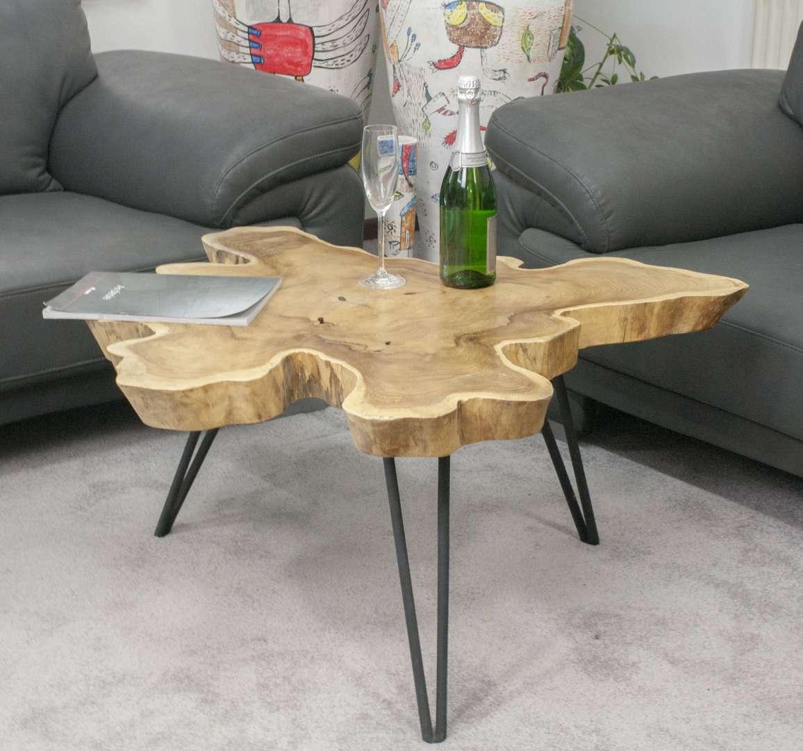 couchtisch beistelltisch aus wurzelholz teak der tischonkel. Black Bedroom Furniture Sets. Home Design Ideas