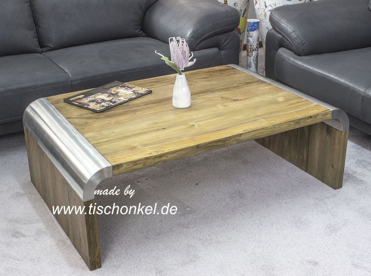 74 der tischonkel design couchtisch aus altholz mit edelstahl esstisch aus massivholz mit. Black Bedroom Furniture Sets. Home Design Ideas