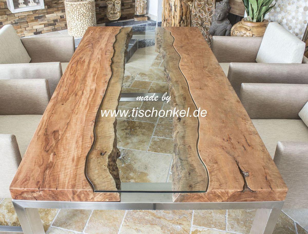 Design esstisch der tischonkel for Holztisch massiv design