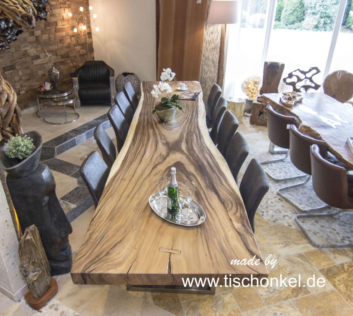 Esstisch aus Massivholz : Der Tischonkel