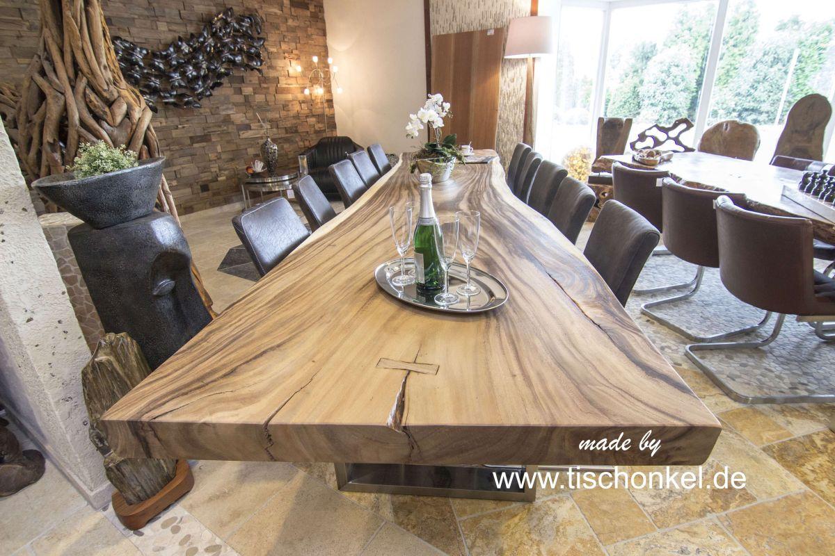 Esstisch aus massivholz der tischonkel for Runder esstisch modern