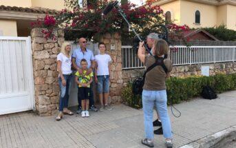 Goodbye Deutschland - Lena und Olaf Gerken mit den Kids bei den ersten Dreharbeiten