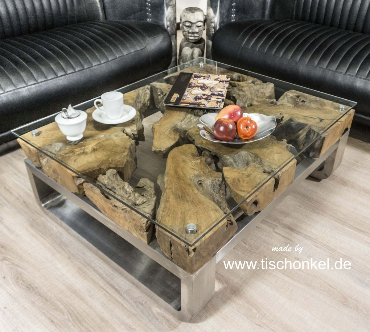 couchtisch aus glas der tischonkel. Black Bedroom Furniture Sets. Home Design Ideas