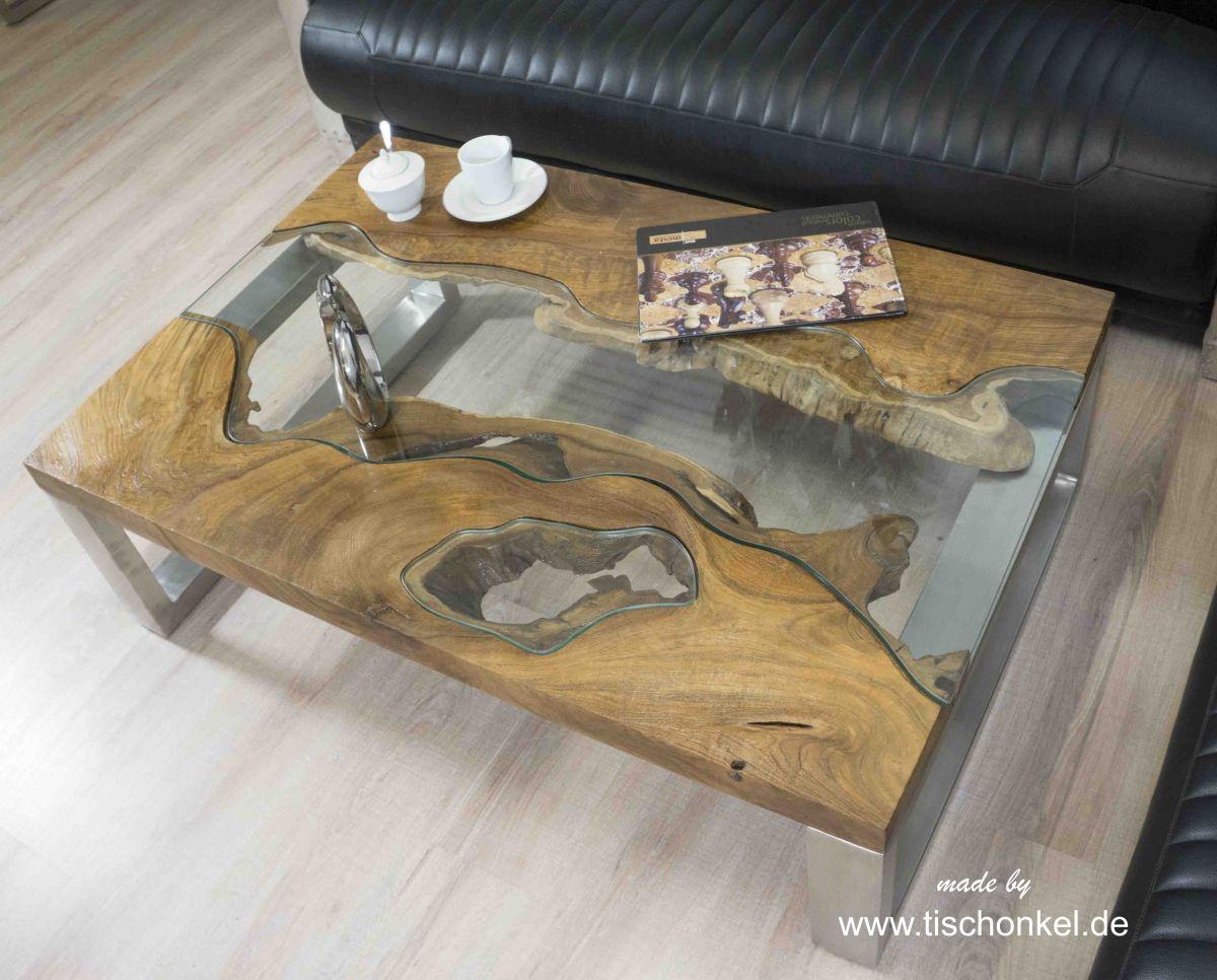 Design Couchtisch Aus Holz