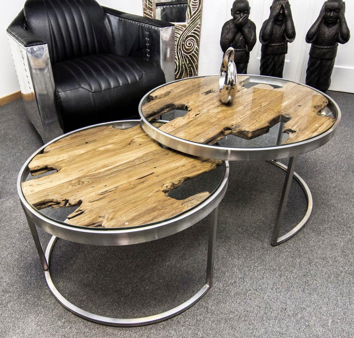 couchtisch beistelltisch rund und ausziehbar der tischonkel. Black Bedroom Furniture Sets. Home Design Ideas