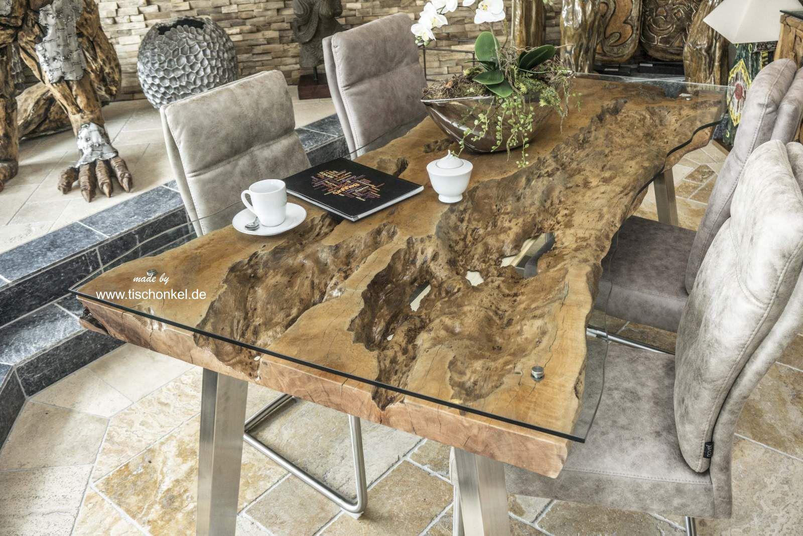 Aussergewohnlicher Esstisch Von Gerken Wohndesign Der Tischonkel
