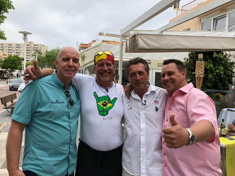 Eröffnung Cabana von Mermi-Schmelz und Frank Knöttgen in Paguera