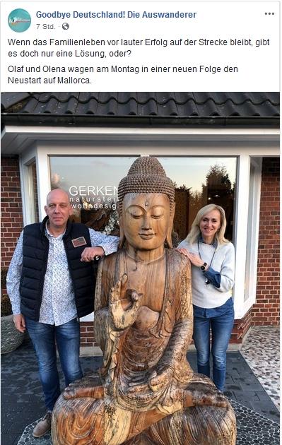 Lena und Olaf Gerken bei Goodbye Deutschland
