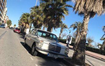 Mercedes (200D /8) Karlchen fährt nach Mallorca