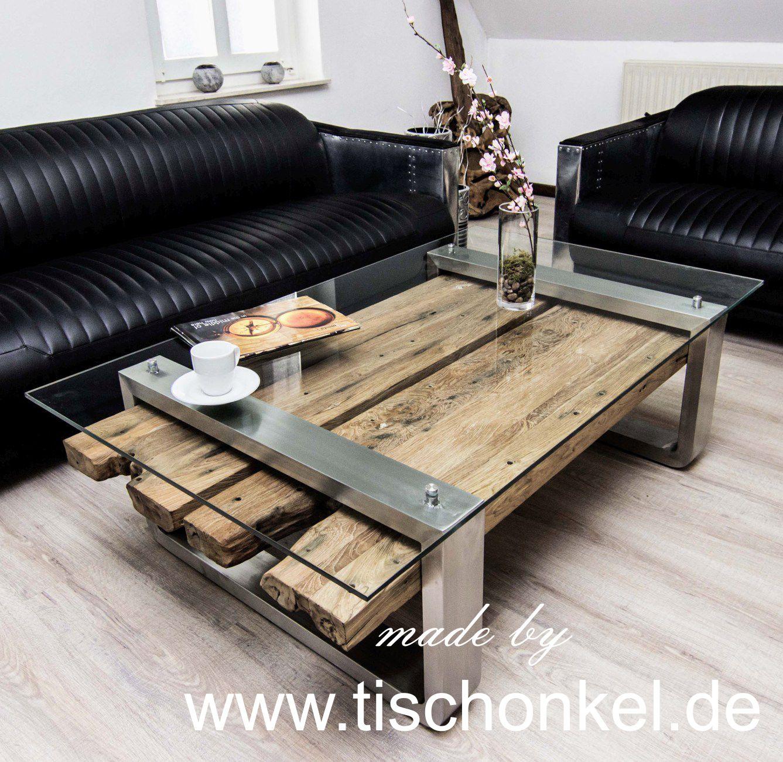 Moderner Couchtisch Aus Altholz 120x80 Cm Der Tischonkel