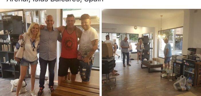 Caro, Andreas und Basti eröffnen das neue Iron Beauty,…doch es fehlen Möbel