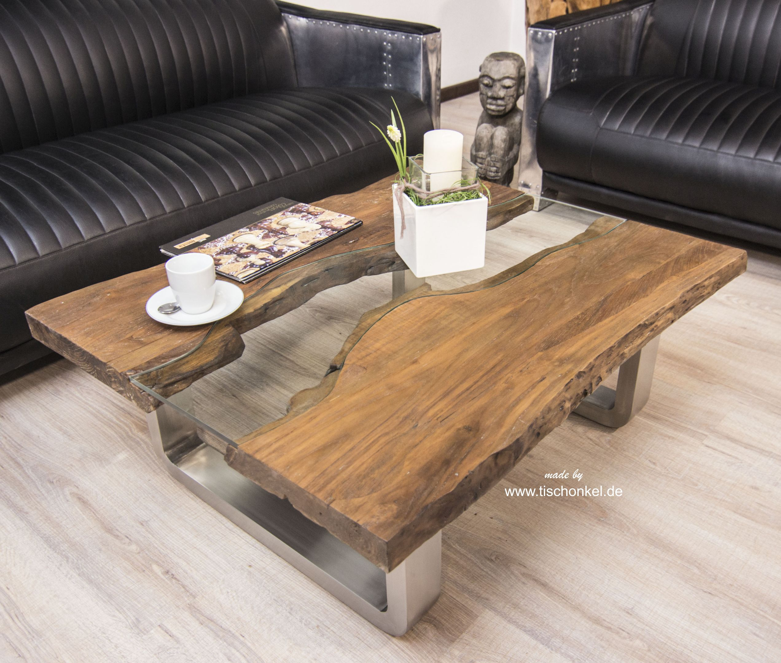 couchtisch vintage wood. wood coffee table from cable reel build