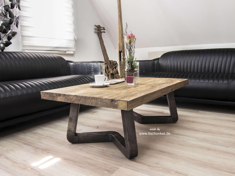 Eleganter Couchtisch Freestyle 120x80 Cm Der Tischonkel