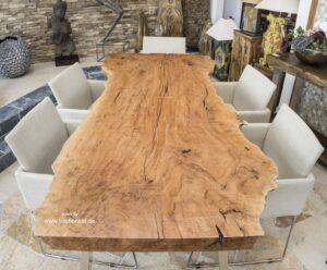 Esszimmertisch Holzbohle