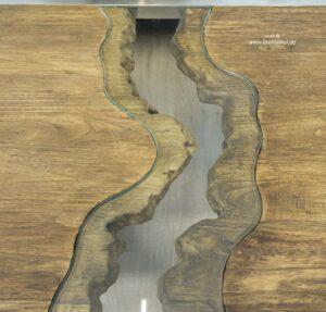 Natürliches Design beim Couchtisch Wild River