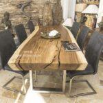 Baumstamm Esstisch von GERKEN Wohndesign