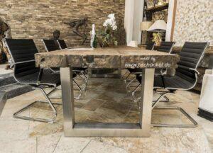 Massive Tischplatte 10 cm stark