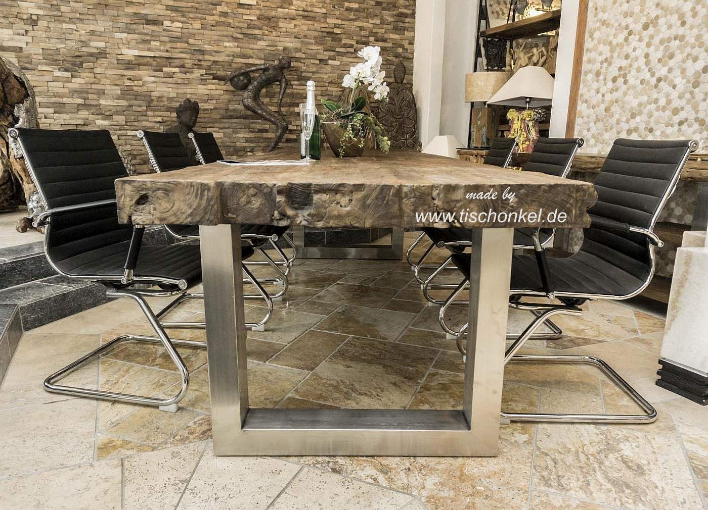 Esstisch für 8 Personen 300x100 cm Der Tischonkel
