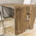 Schreibtisch aus Massivholz mit individuellem Design