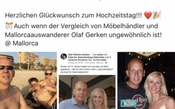 Lena und Olaf Gerken von Goodbye Deutschland feiern den 17ten Hochzeitstag