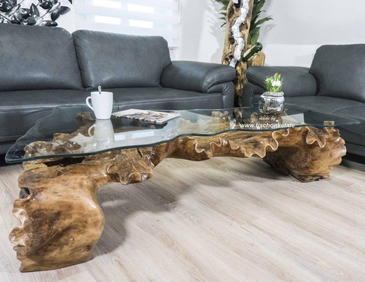 Aussergewohnlicher Couchtisch Von Gerken Wohndesign Der Tischonkel