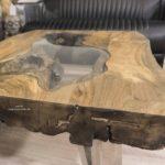 Couchtisch eckig aus Holz