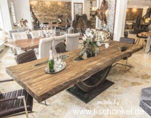 Konferenztisch aus Holz
