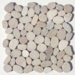 Mosaik aus Kieselsteinen