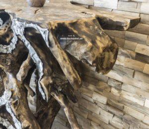 Sideboard aus einer Baumwurzel