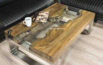 Couchtisch aus Holz