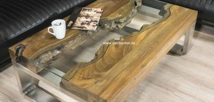 """Couchtisch aus Holz Serie """"Elements"""""""